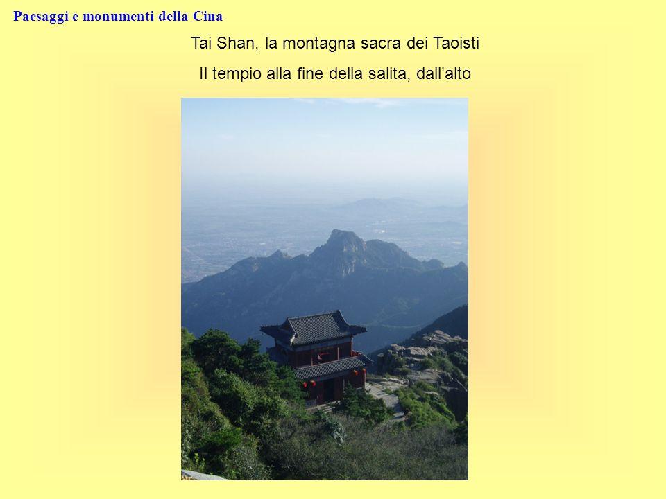 Paesaggi e monumenti della Cina