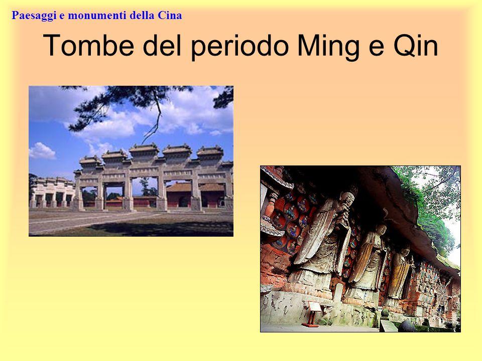 Tombe del periodo Ming e Qin