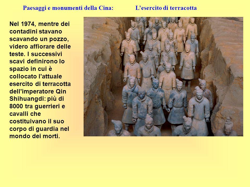 Paesaggi e monumenti della Cina: L'esercito di terracotta