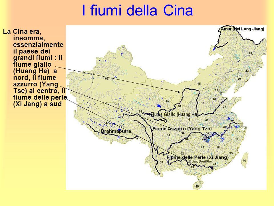 I fiumi della Cina
