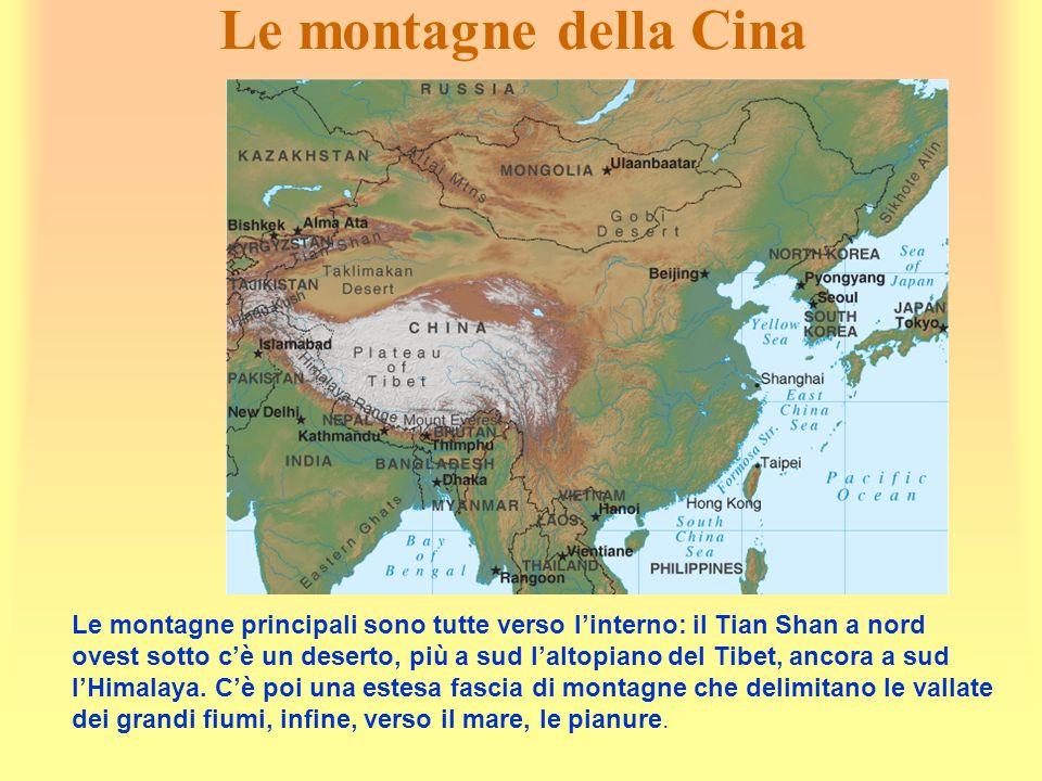 Le montagne della Cina