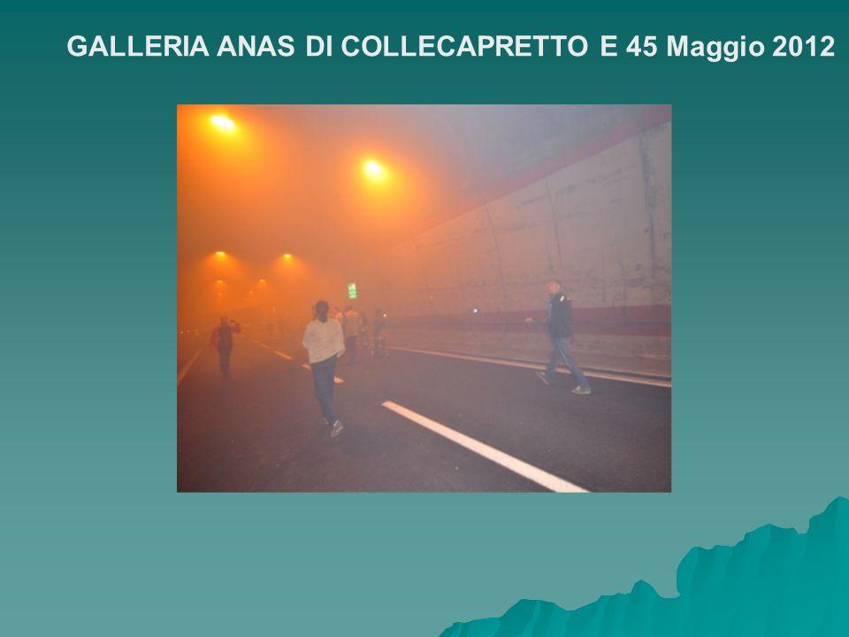 GALLERIA ANAS DI COLLECAPRETTO E 45 Maggio 2012