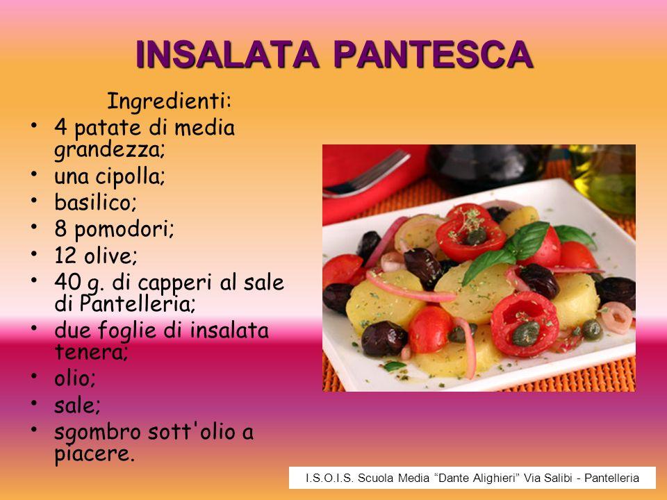 I.S.O.I.S. Scuola Media Dante Alighieri Via Salibi - Pantelleria