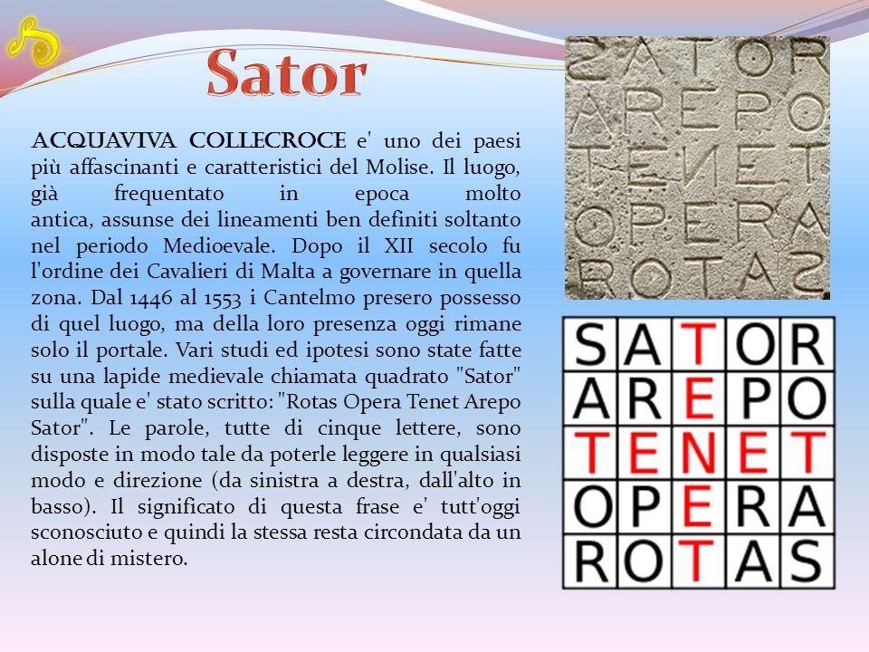 S Sator.
