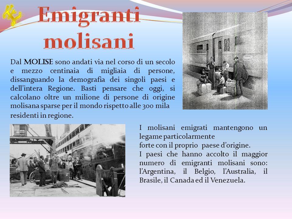 Emigranti molisani E.