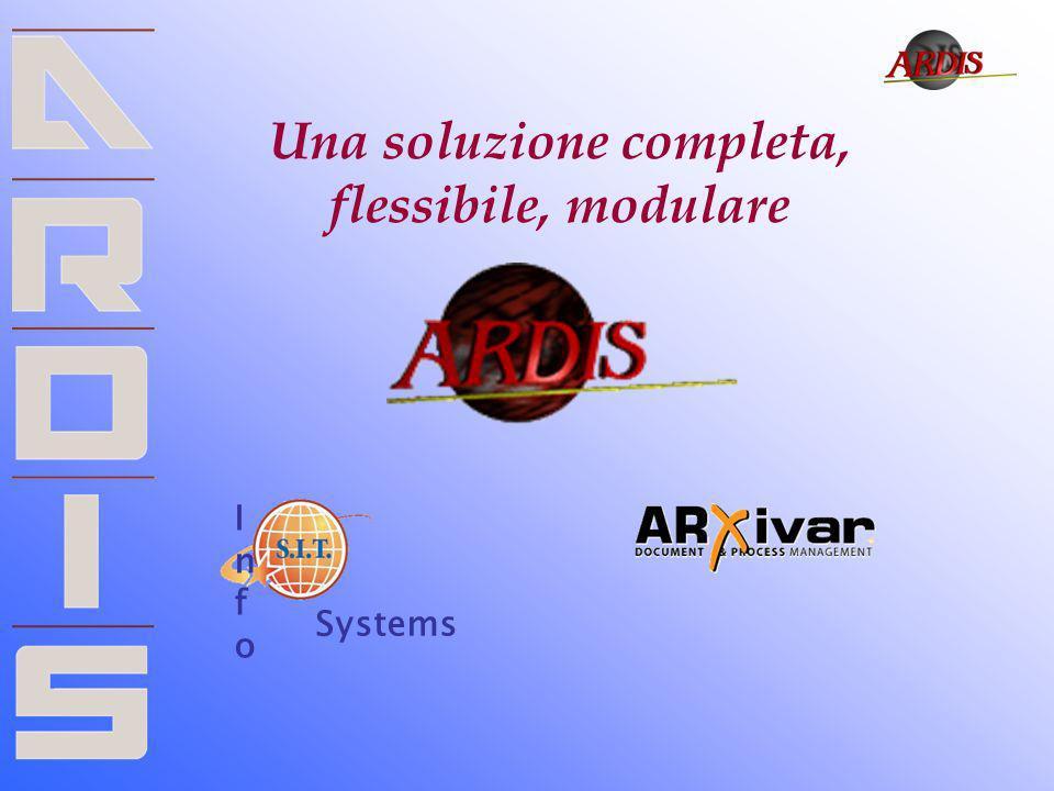 Una soluzione completa, flessibile, modulare