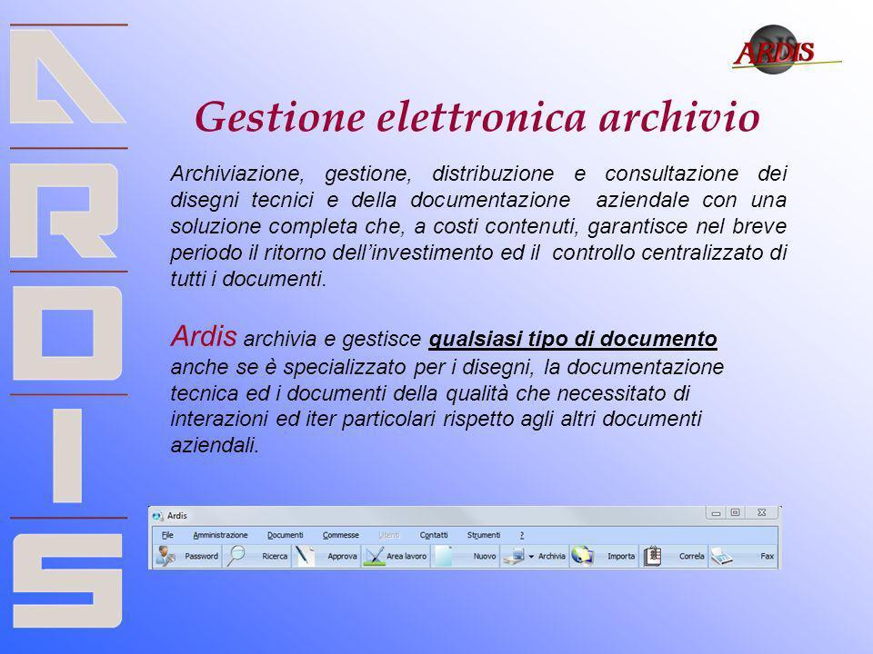 Gestione elettronica archivio