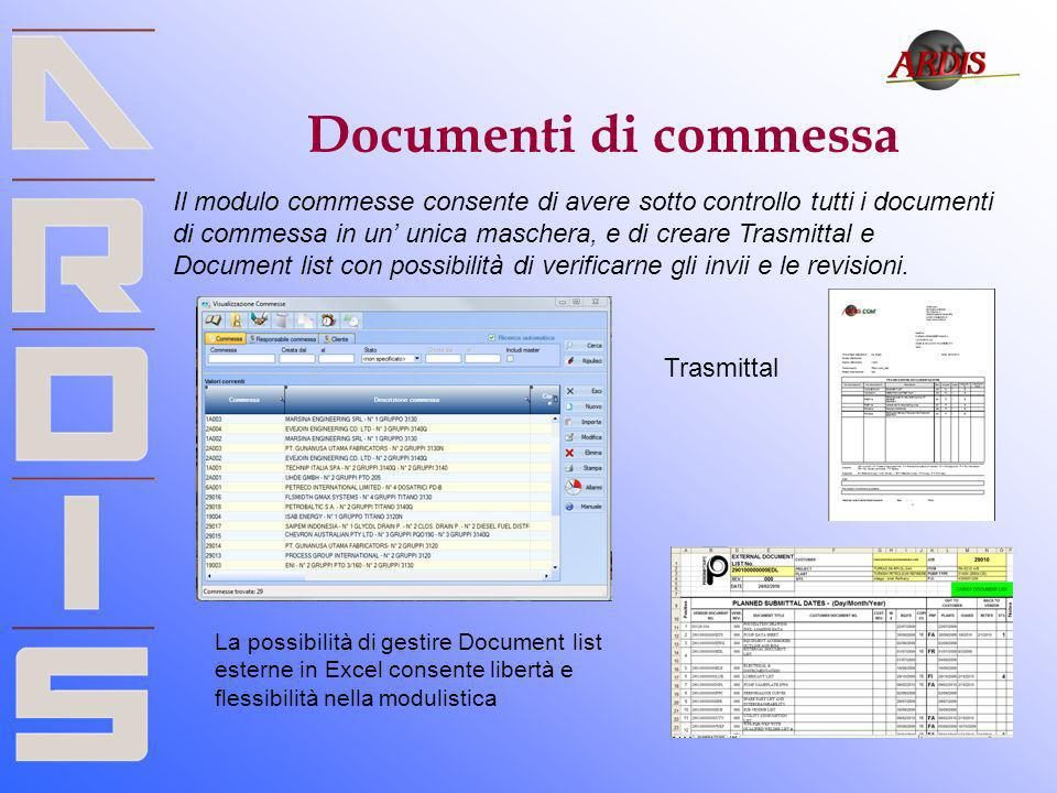 Documenti di commessa