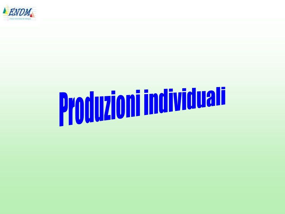 Produzioni individuali