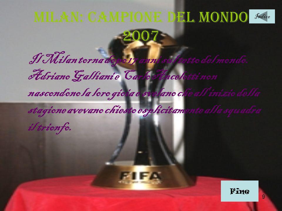 Milan: campione del mondo 2007