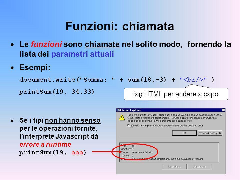tag HTML per andare a capo