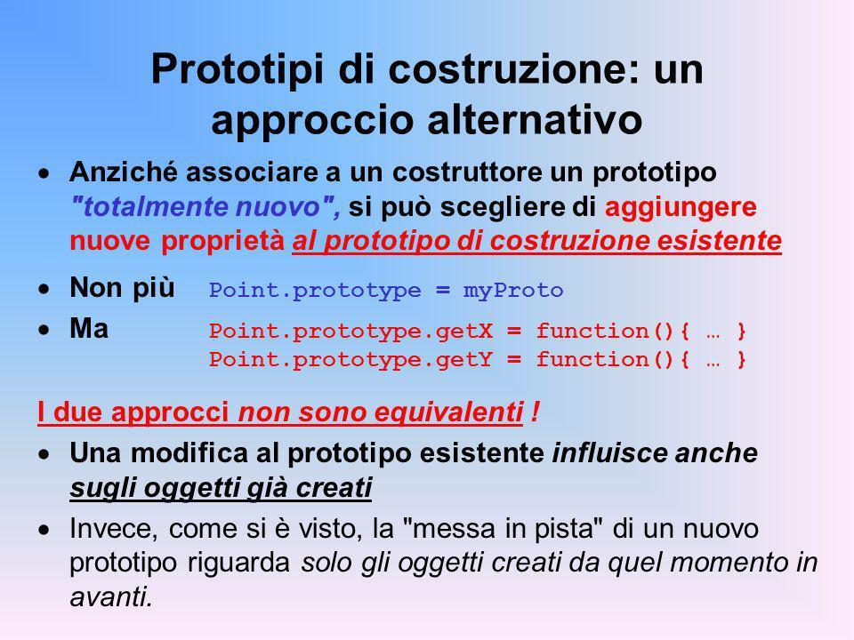 Prototipi di costruzione: un approccio alternativo
