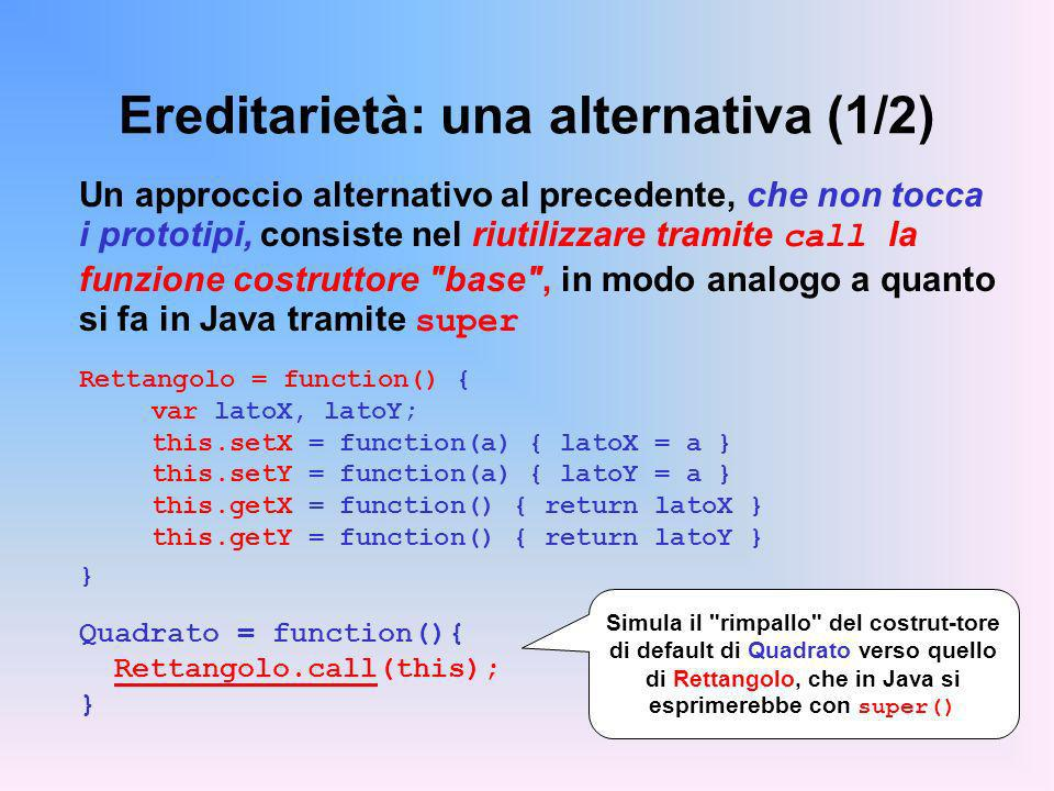 Ereditarietà: una alternativa (1/2)