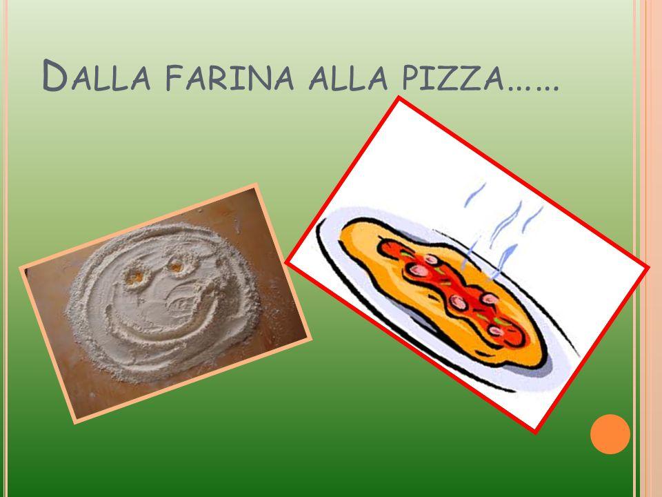 Dalla farina alla pizza……