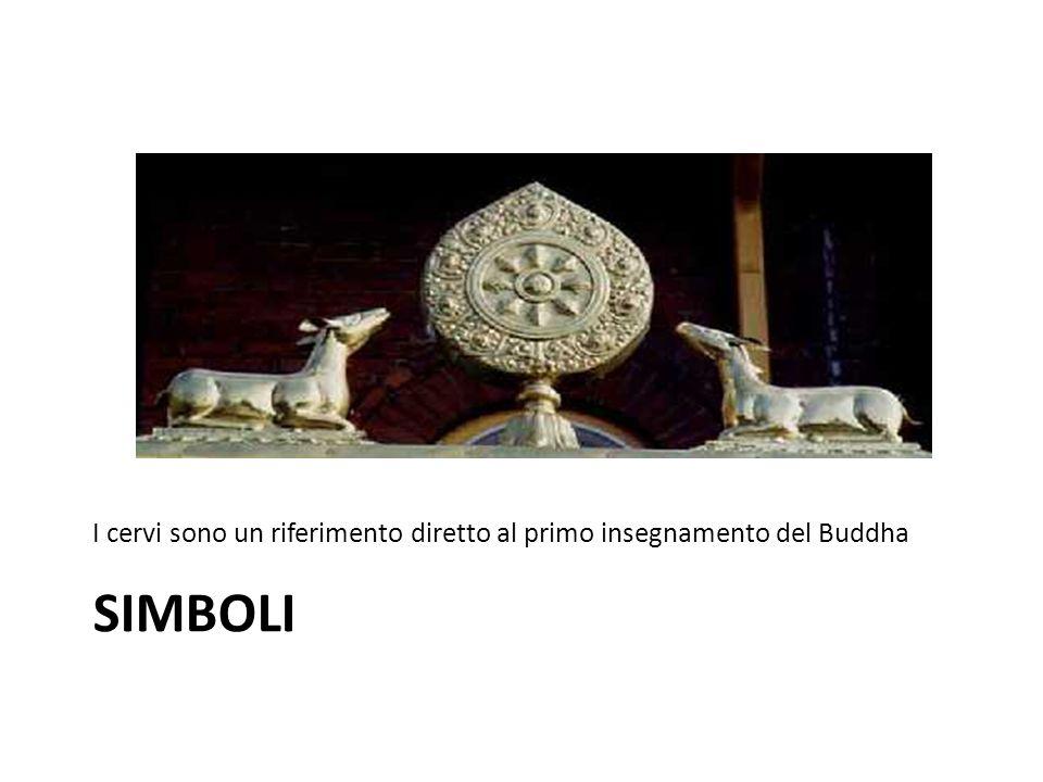 I cervi sono un riferimento diretto al primo insegnamento del Buddha