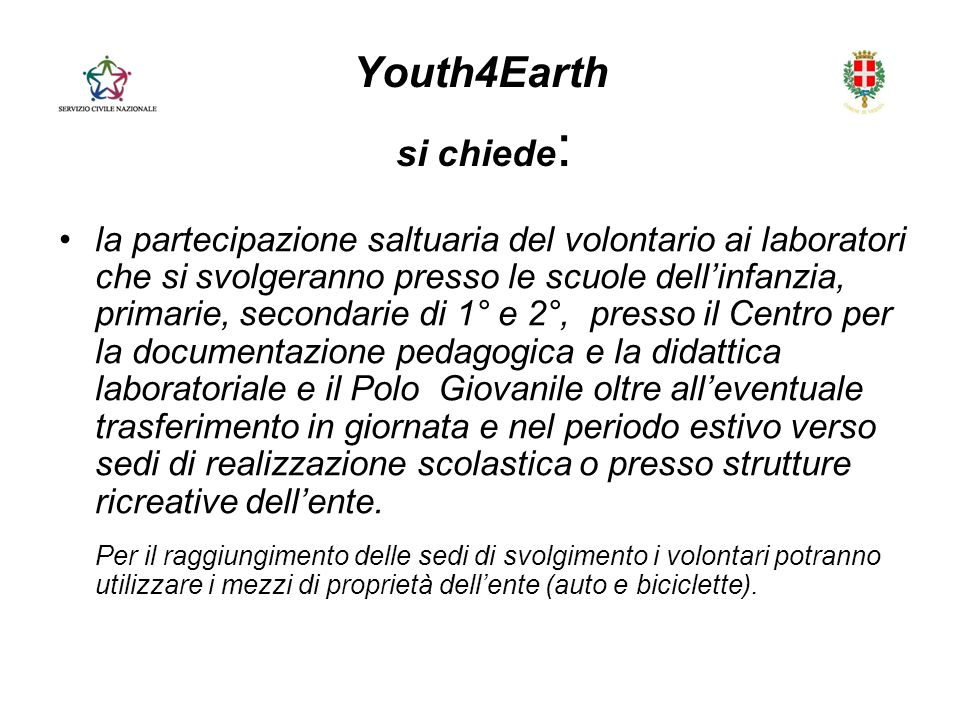 Youth4Earth si chiede: