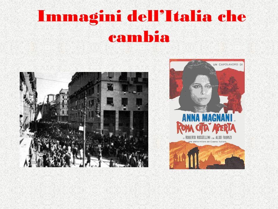 Immagini dell'Italia che cambia