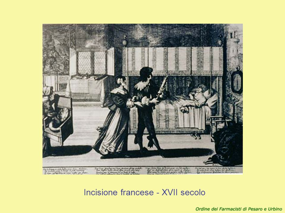 Incisione francese - XVII secolo