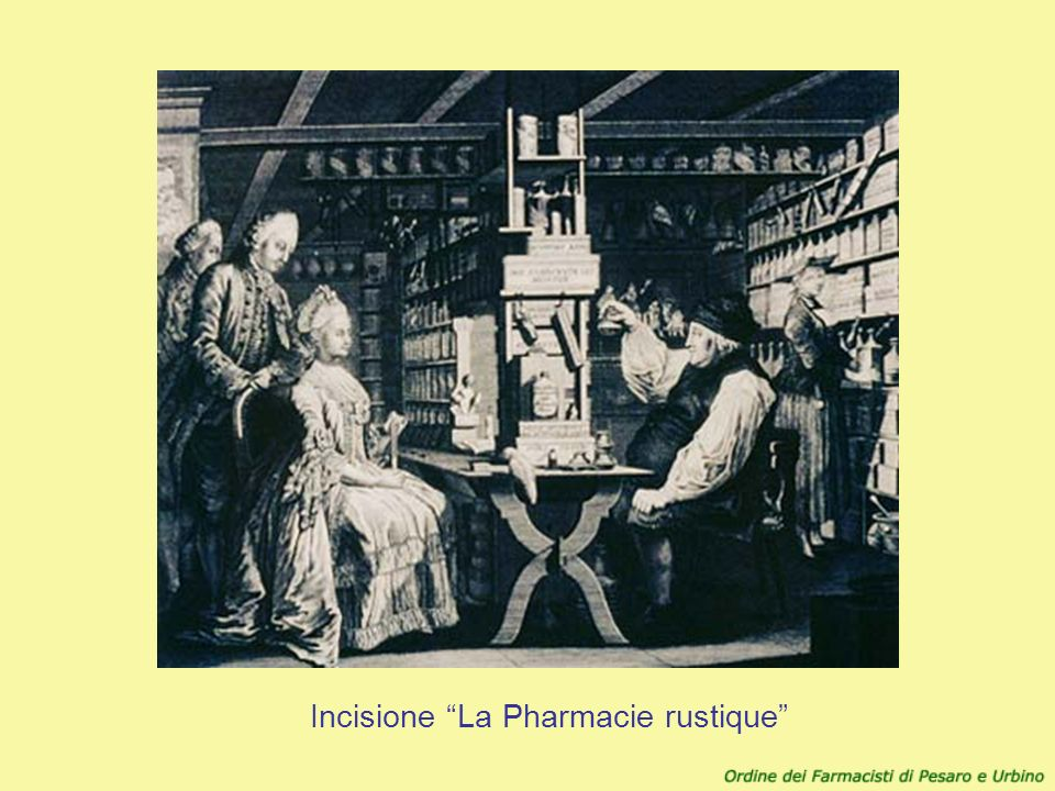 Incisione La Pharmacie rustique