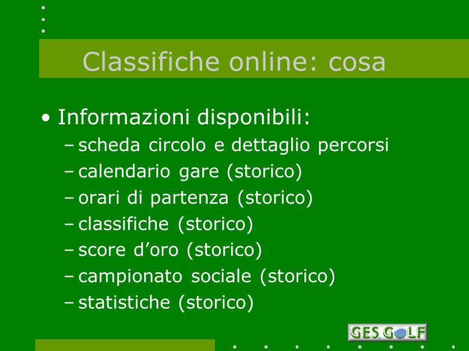 Classifiche online: cosa