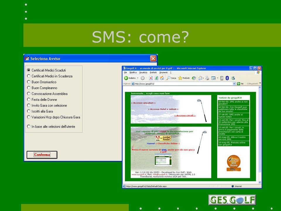 SMS: come