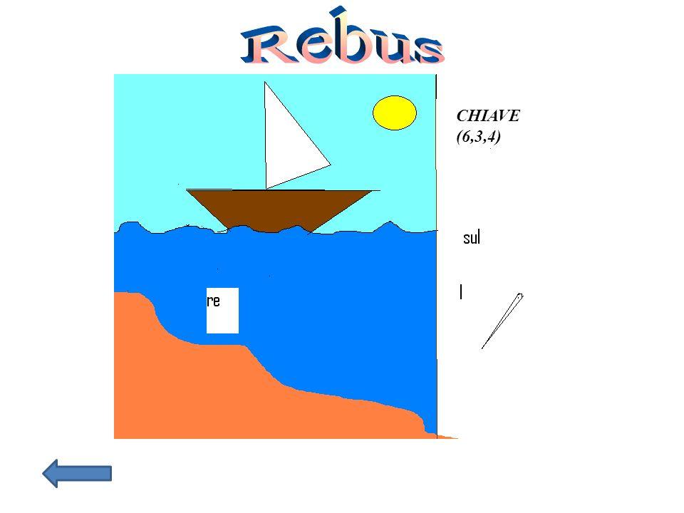 Rebus CHIAVE (6,3,4)