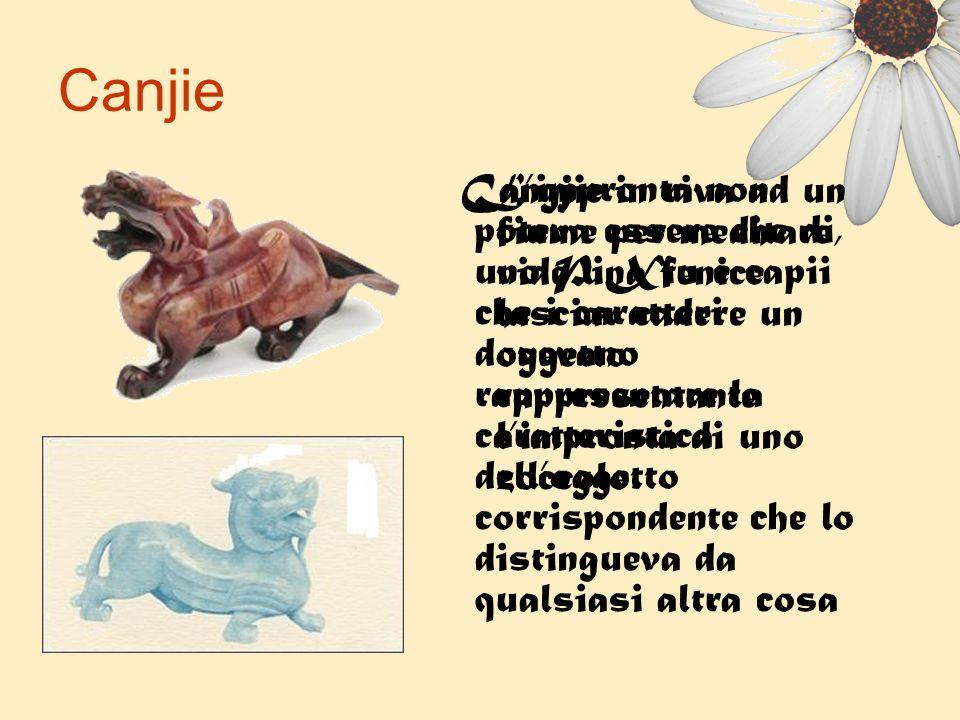 Canjie Cangjie in riva ad un fiume per meditare, vide una fenice lasciar cadere un oggetto rappresentante l'impronta di uno zoccolo.