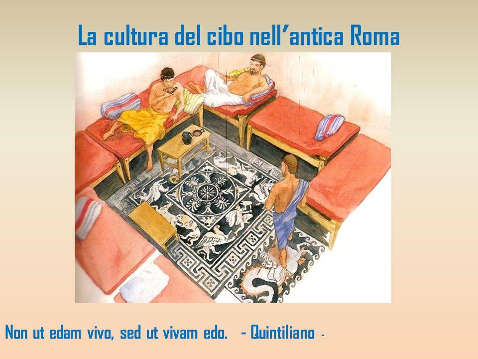 La cultura del cibo nell'antica Roma