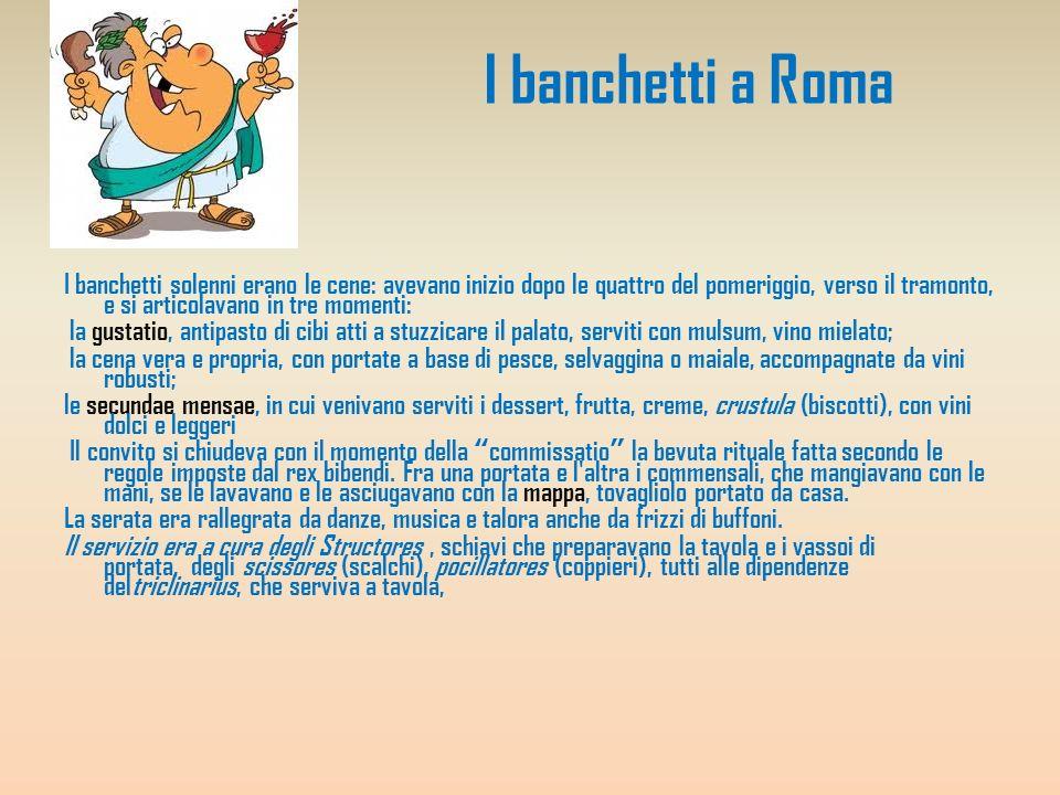 I banchetti a Roma