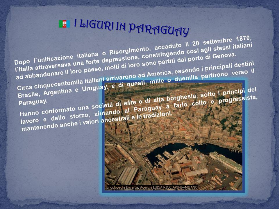 I LIGURI IN PARAGUAY