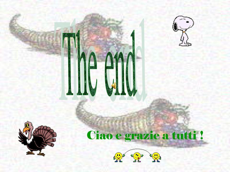 The end Ciao e grazie a tutti !