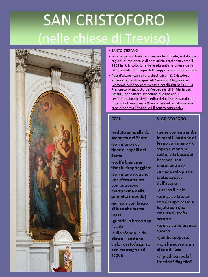 SAN CRISTOFORO (nelle chiese di Treviso)