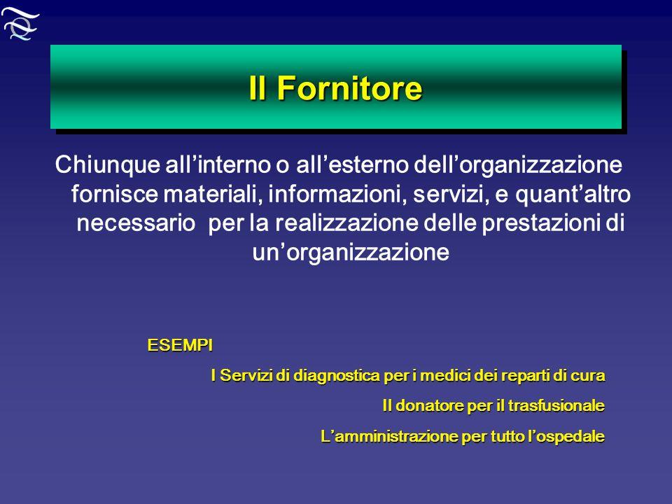 Il Fornitore