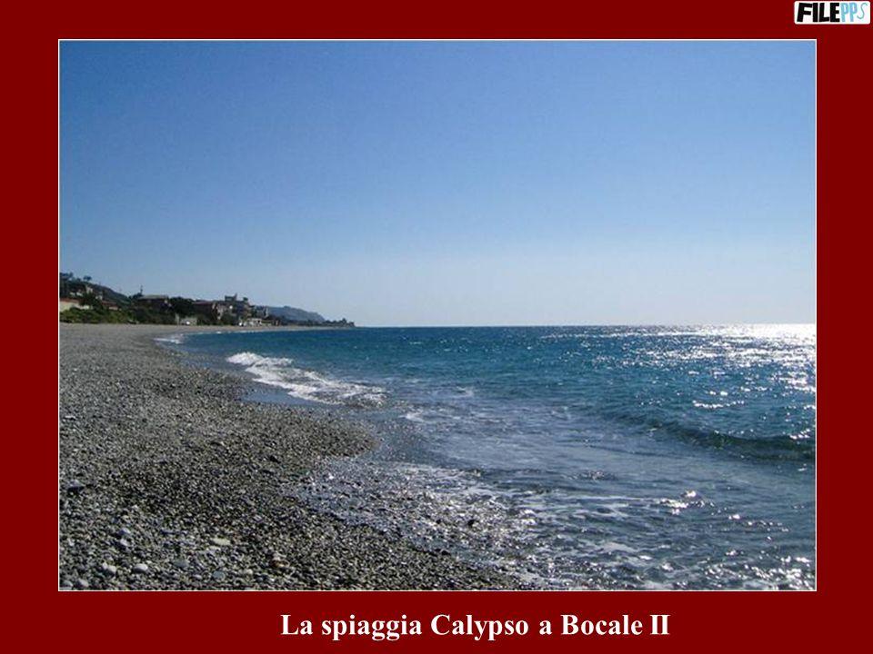 La spiaggia Calypso a Bocale II