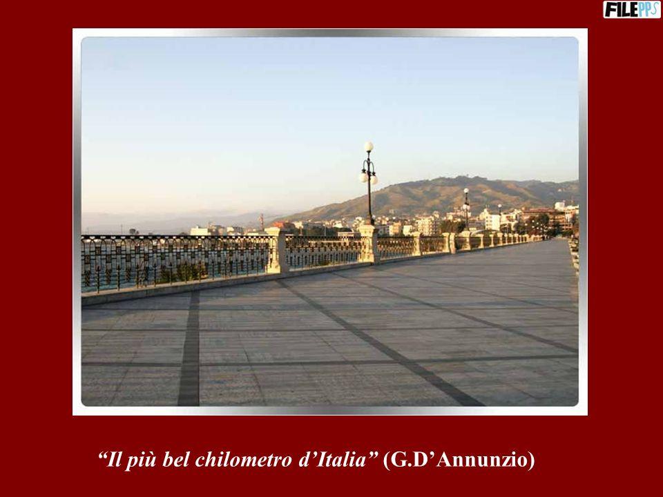 Il più bel chilometro d'Italia (G.D'Annunzio)