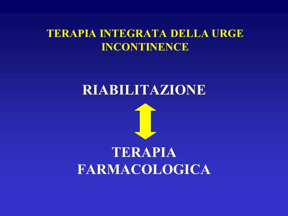 TERAPIA INTEGRATA DELLA URGE INCONTINENCE