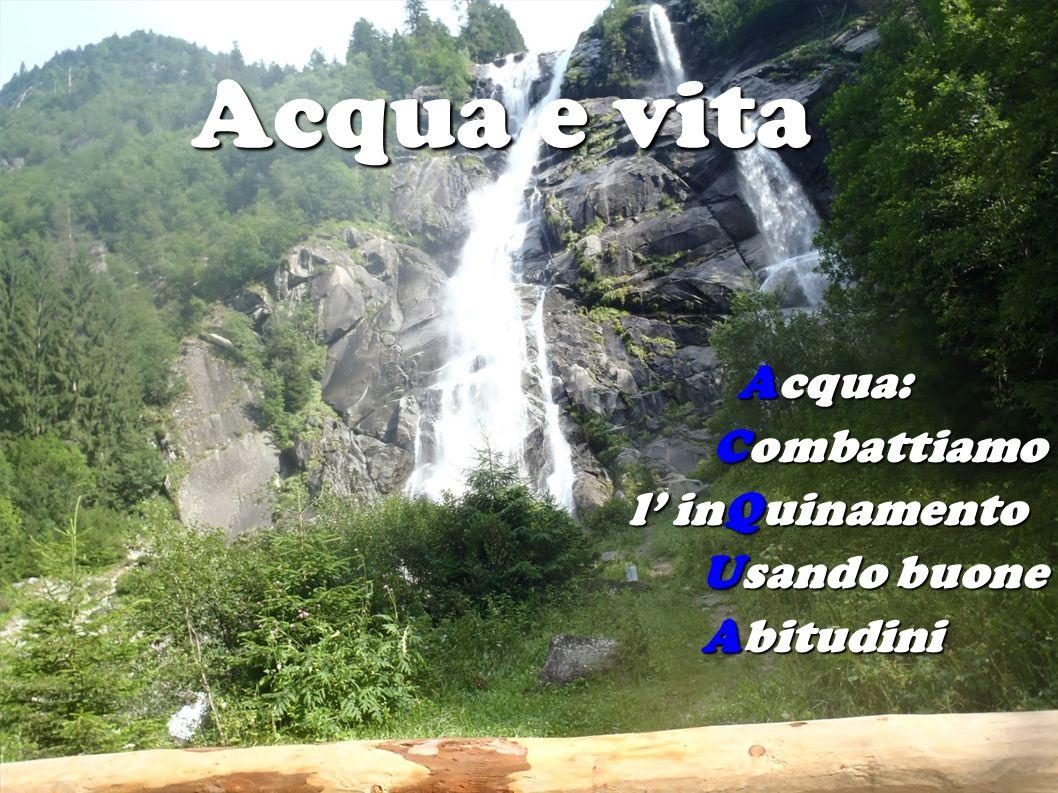Acqua: Combattiamo l' inQuinamento Usando buone Abitudini