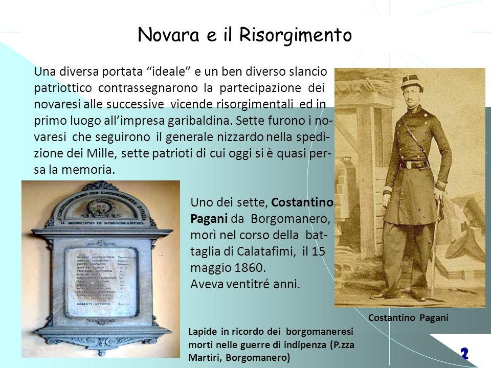 Novara e il Risorgimento