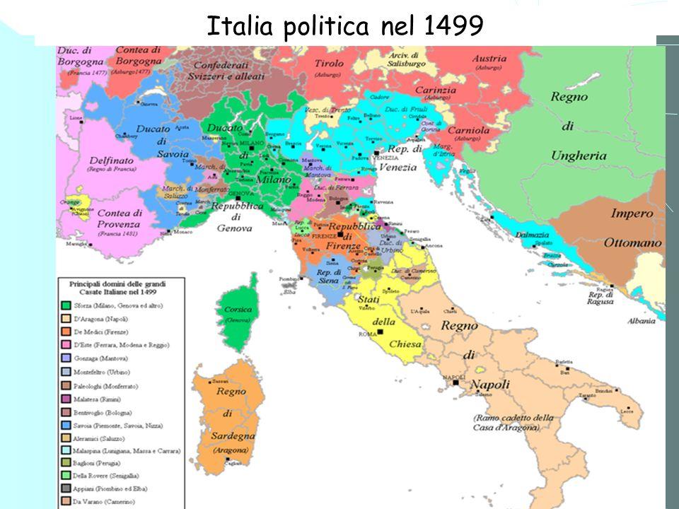 Italia politica nel 1499 1 2