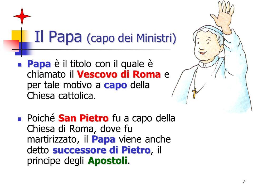 Il Papa (capo dei Ministri)