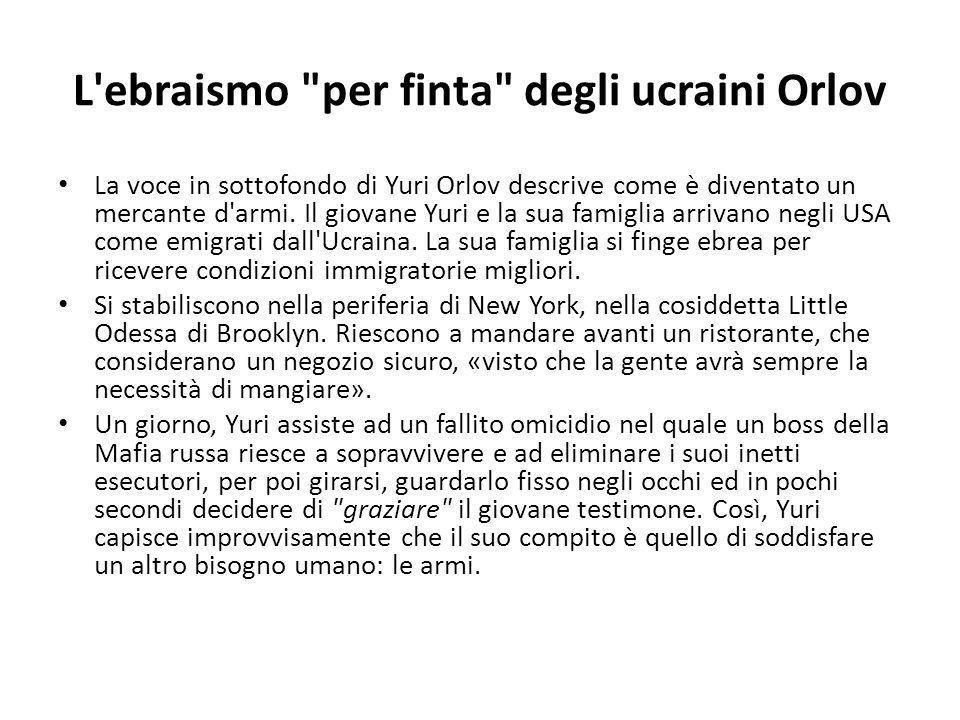 L ebraismo per finta degli ucraini Orlov