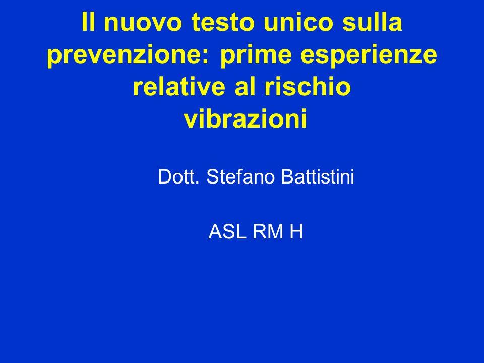 Dott. Stefano Battistini ASL RM H