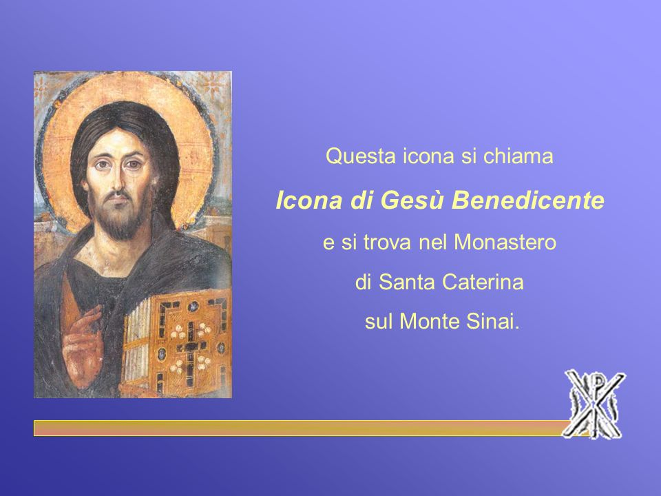 Icona di Gesù Benedicente