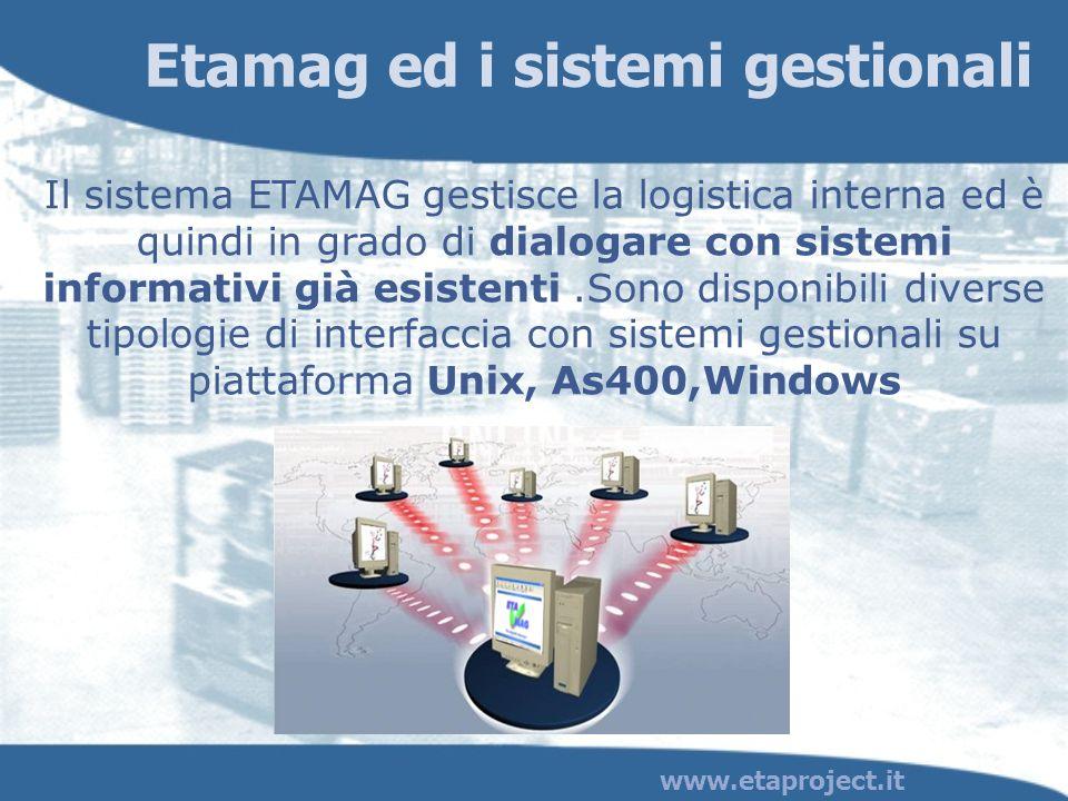 Etamag ed i sistemi gestionali