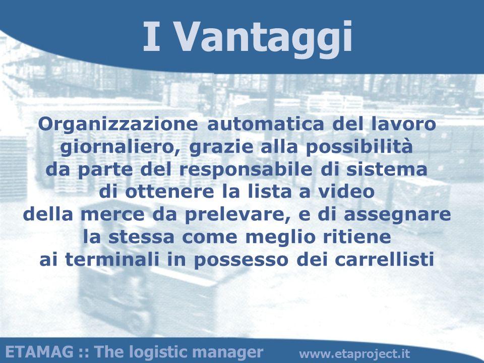 I Vantaggi