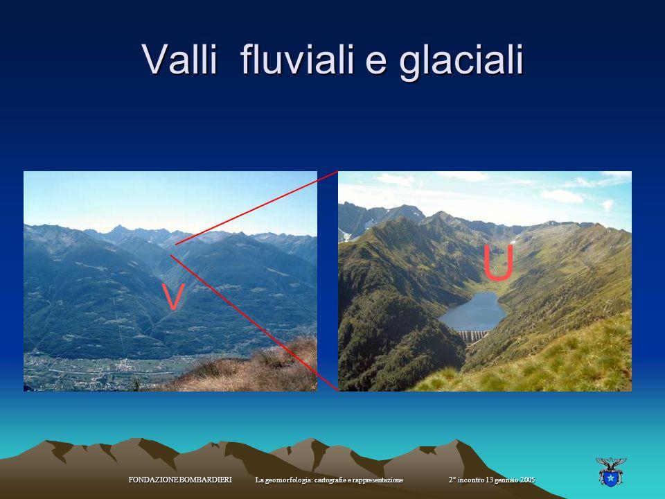 Valli fluviali e glaciali