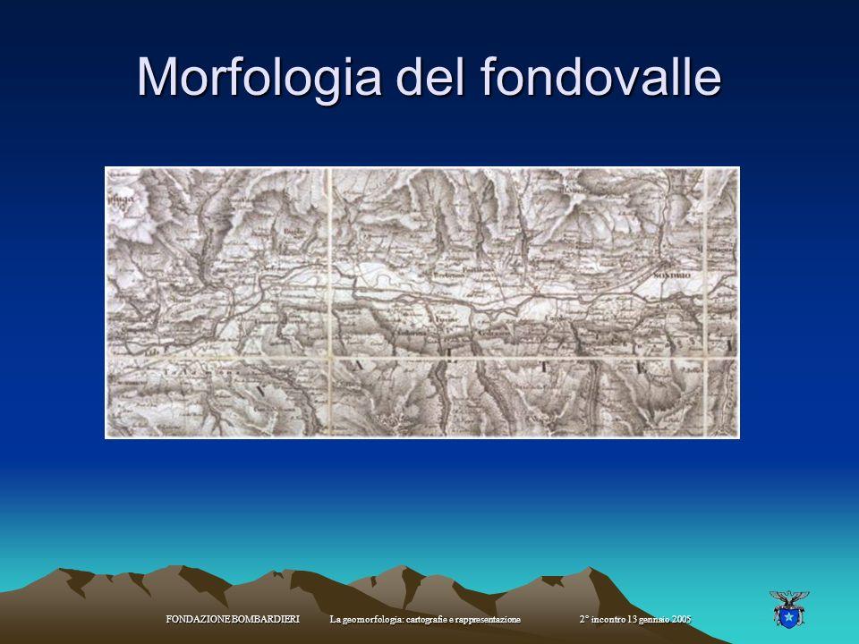 Morfologia del fondovalle