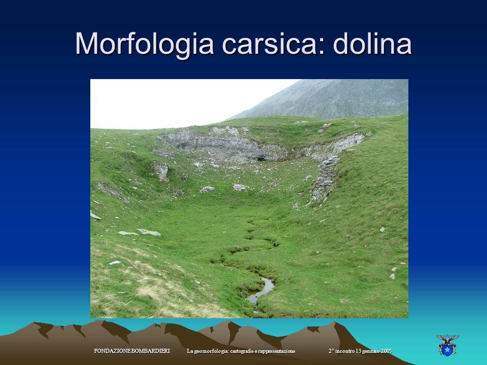 Morfologia carsica: dolina