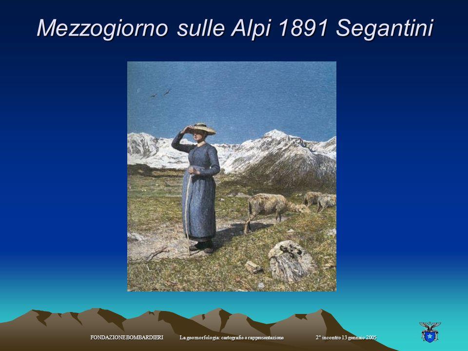 Mezzogiorno sulle Alpi 1891 Segantini