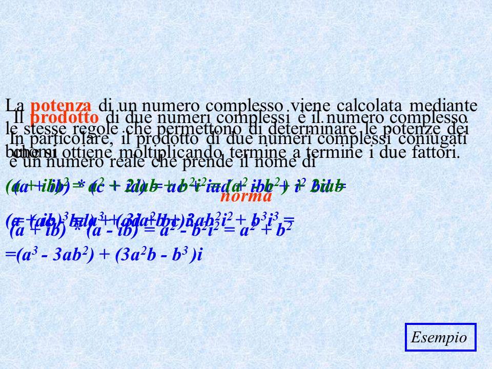 (a + ib)2 = a2 + 2iab + b2i2 = (a2 - b2 ) + 2iab